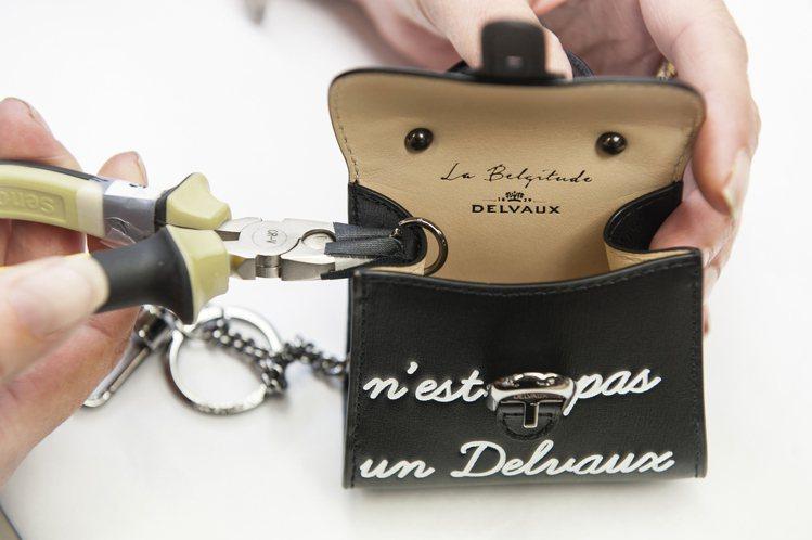 Les Miniatures薈萃了頂級皮革工藝和藝術創作的美感。圖/DELVAU...