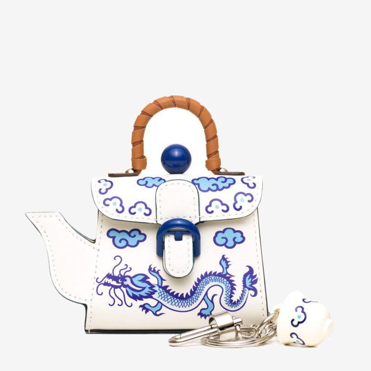 Les Miniatures香港茶壺,33,900元。圖/DELVAUX提供