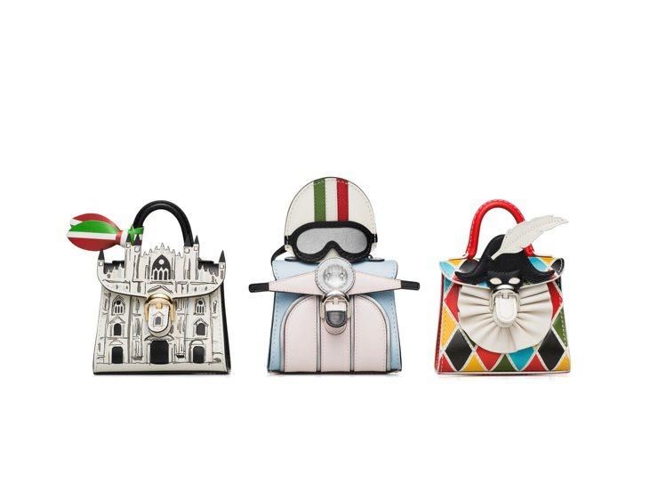 Les Miniatures義大利系列包款。圖/DELVAUX提供