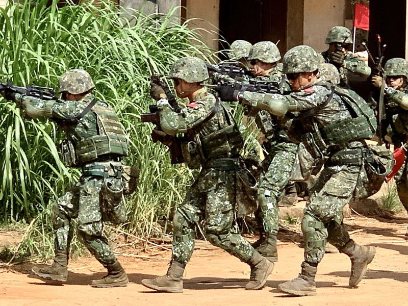 當兵生活是多數台灣男性深刻難忘的共同回憶。報系資料照