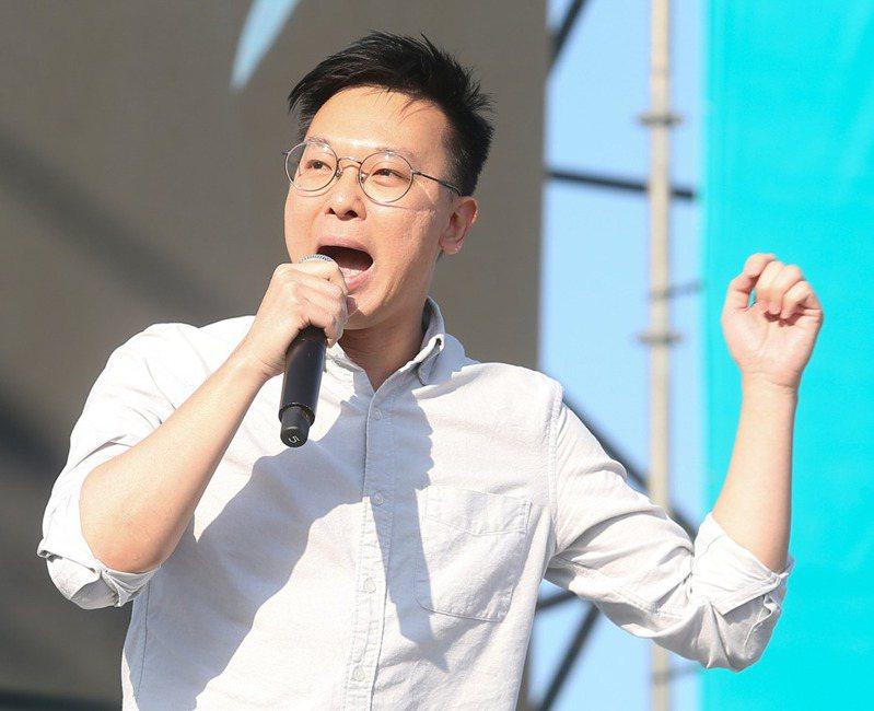 民進黨副祕書長林飛帆。 圖/聯合報系資料照片