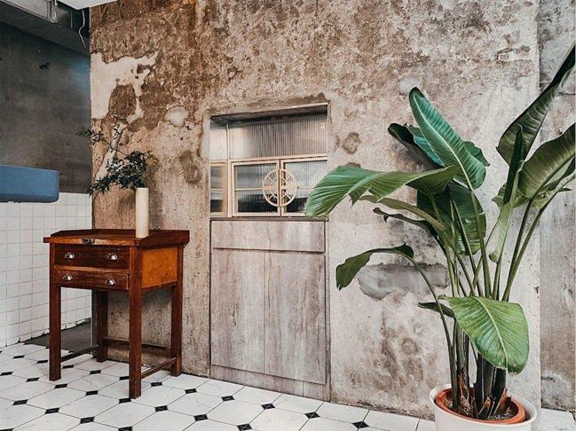 空間保有老建築的痕跡。圖/CEO1950總裁藝文空間提供