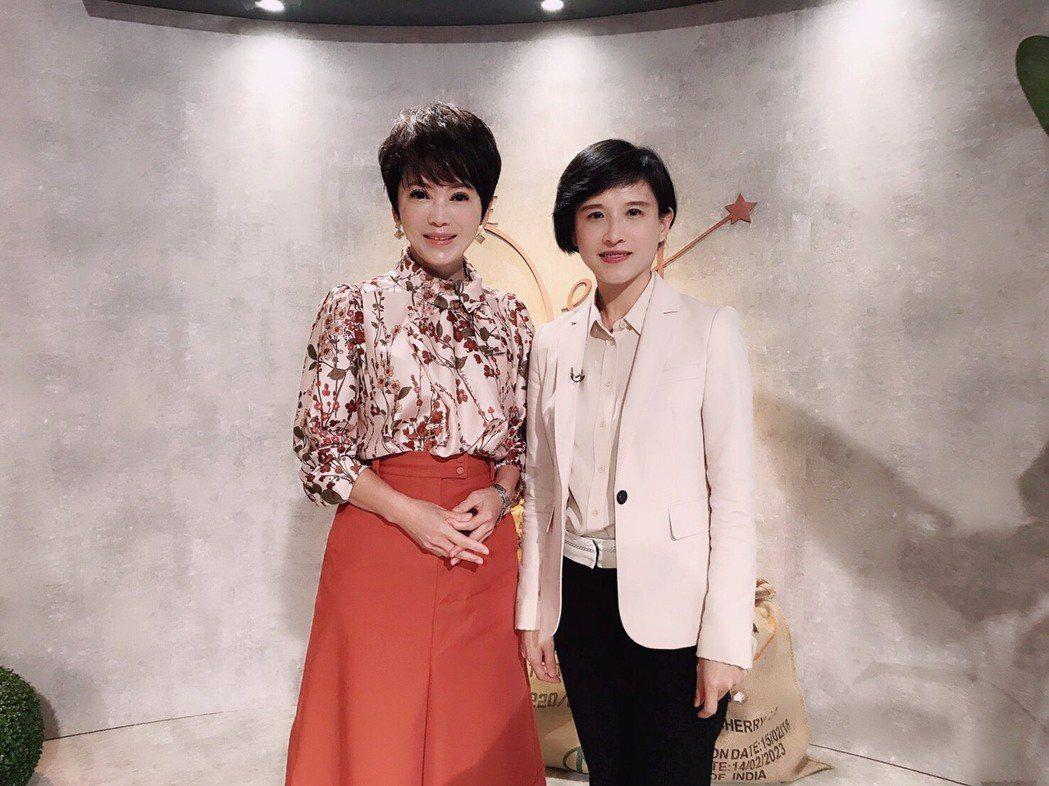 鄭麗君接受陳雅琳專訪。圖/壹電視提供