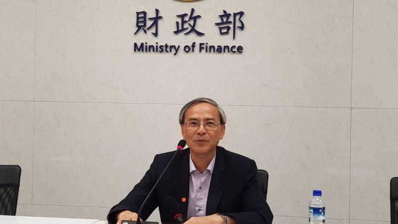 財政部次長阮清華。記者戴瑞瑤/攝影。