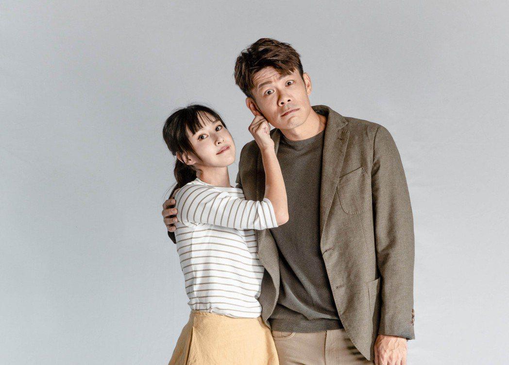 房思瑜(左)、陳志強在「我們與惡的距離」劇場版中飾演「應思悅」和男友「凱子」。圖...