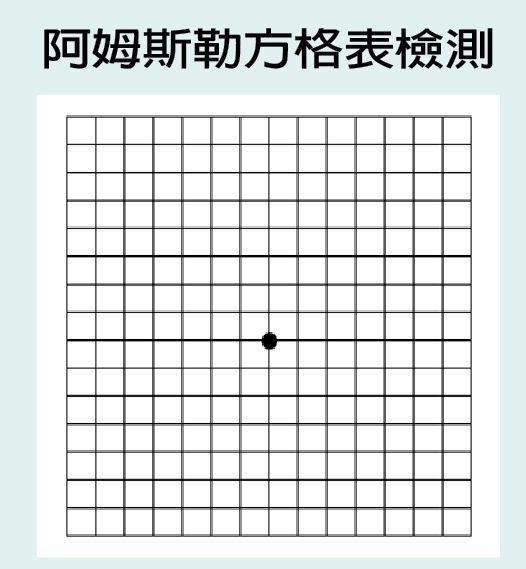 阿姆斯勒方格表 製表/元氣周報