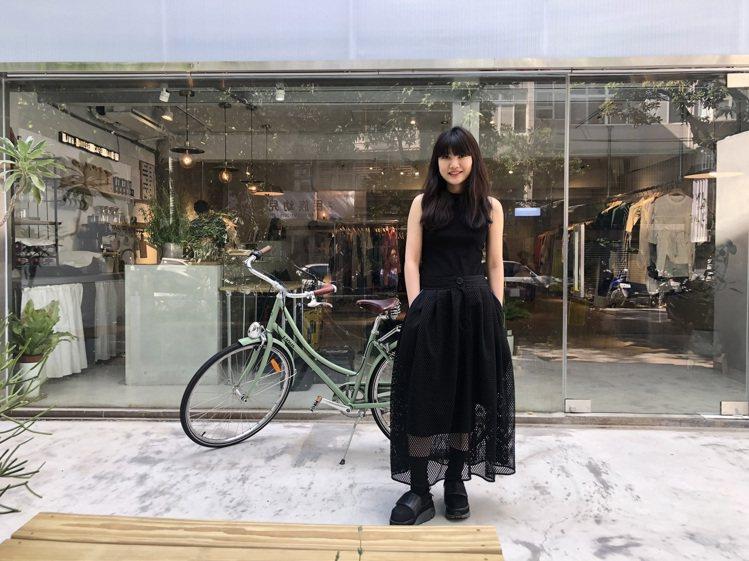 旅英設計師黃薇在台北民生社區的新中街開設了品牌Jamie Wei Huang首家...