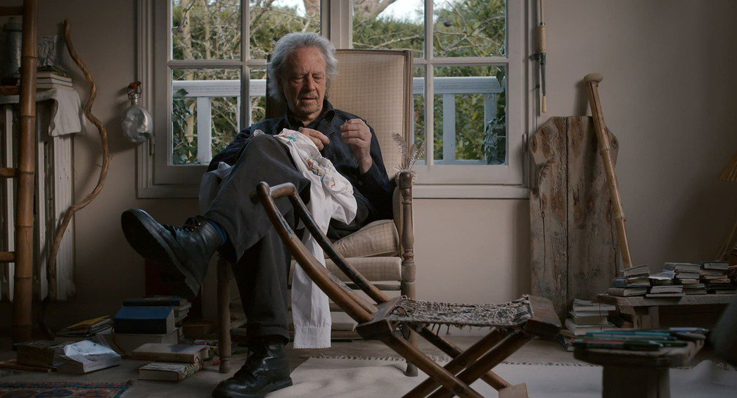 《彼得漢德克:我在森林,晚一點到》歷時3年拍攝,完整記錄大師的日常樣貌。佳映提供