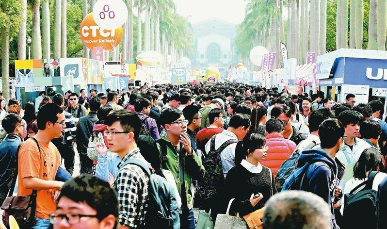 畢業求職旺季來臨,不少新鮮人開始找工作。圖/聯合報系資料照片