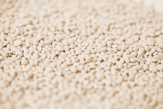 Biomadecon原料可依客戶需求進行調色。 世農新材料/提供