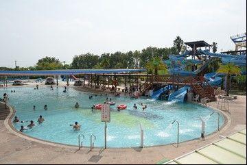 大型多功能泳池區。  嘉南農田水利會 提供