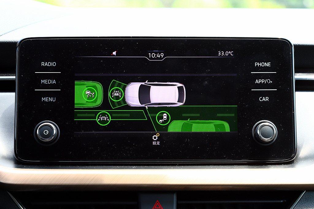 行車安全輔助系統方面,凡舉全速域ACC主動式定速跟車、車側盲點警示、Front ...