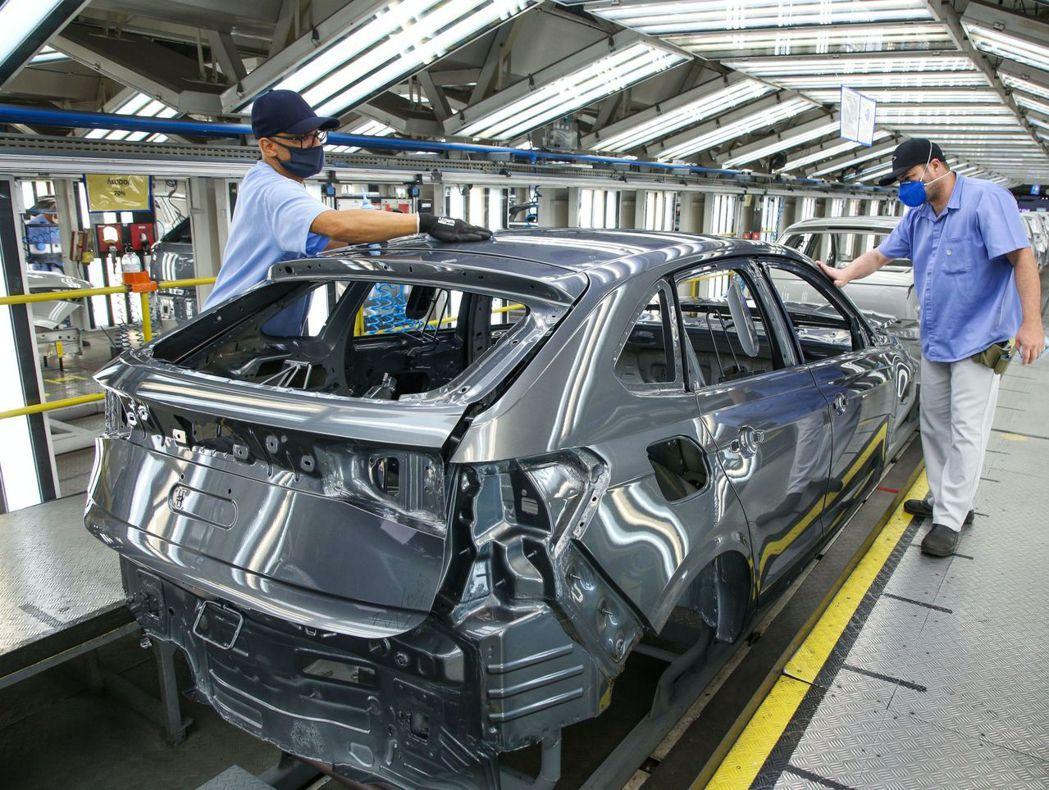 全新Volkswagen Nivus南美洲車型由巴西廠負責生產。 摘自Volks...