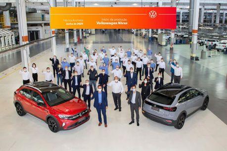 第一款在巴西開發的福斯 全新Volkswagen Nivus小跑旅正式投產!