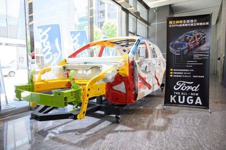 國內第一條多款車身智慧產線 福特六和年產值將增60億