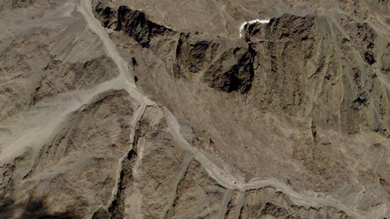 中國和印度軍隊於拉達克加萬谷爆發衝突。路透