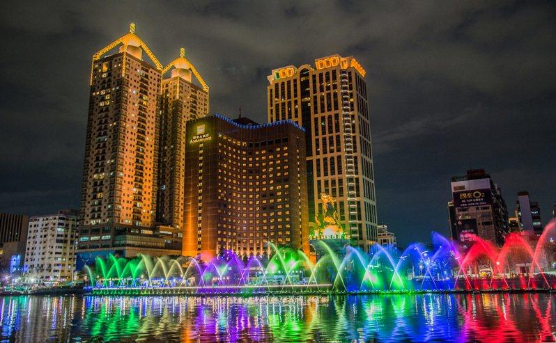 高雄市觀光局統計高雄市多家觀光飯店、旅館端午連假的訂房率,多逾7成,還有接近滿房的。圖/高雄市觀光局提供