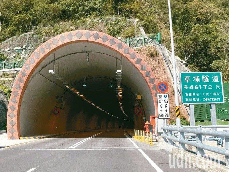 南迴改安朔~草埔段,6月30日12時起試辦開放大型重型機車通行。聯合報系資料照
