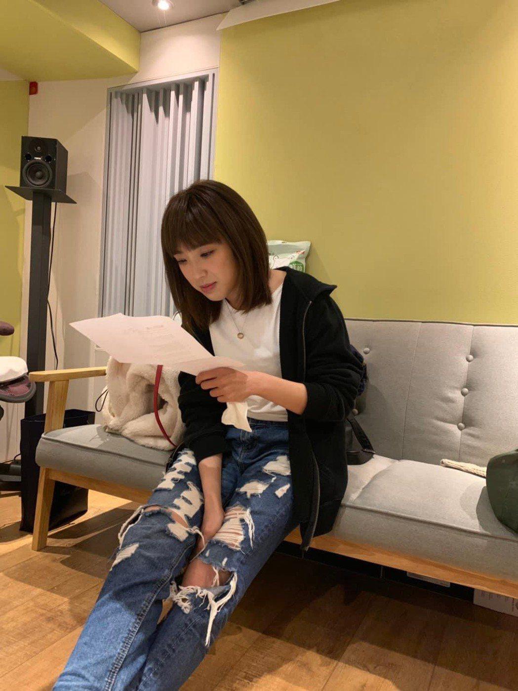 梁舒涵確定請辭「女力報到」。圖/摘自臉書