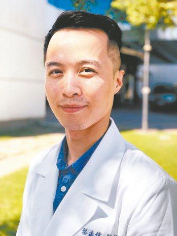 衛福部桃園醫院眼科專任醫師蔡孟儒 圖/蔡孟儒提供