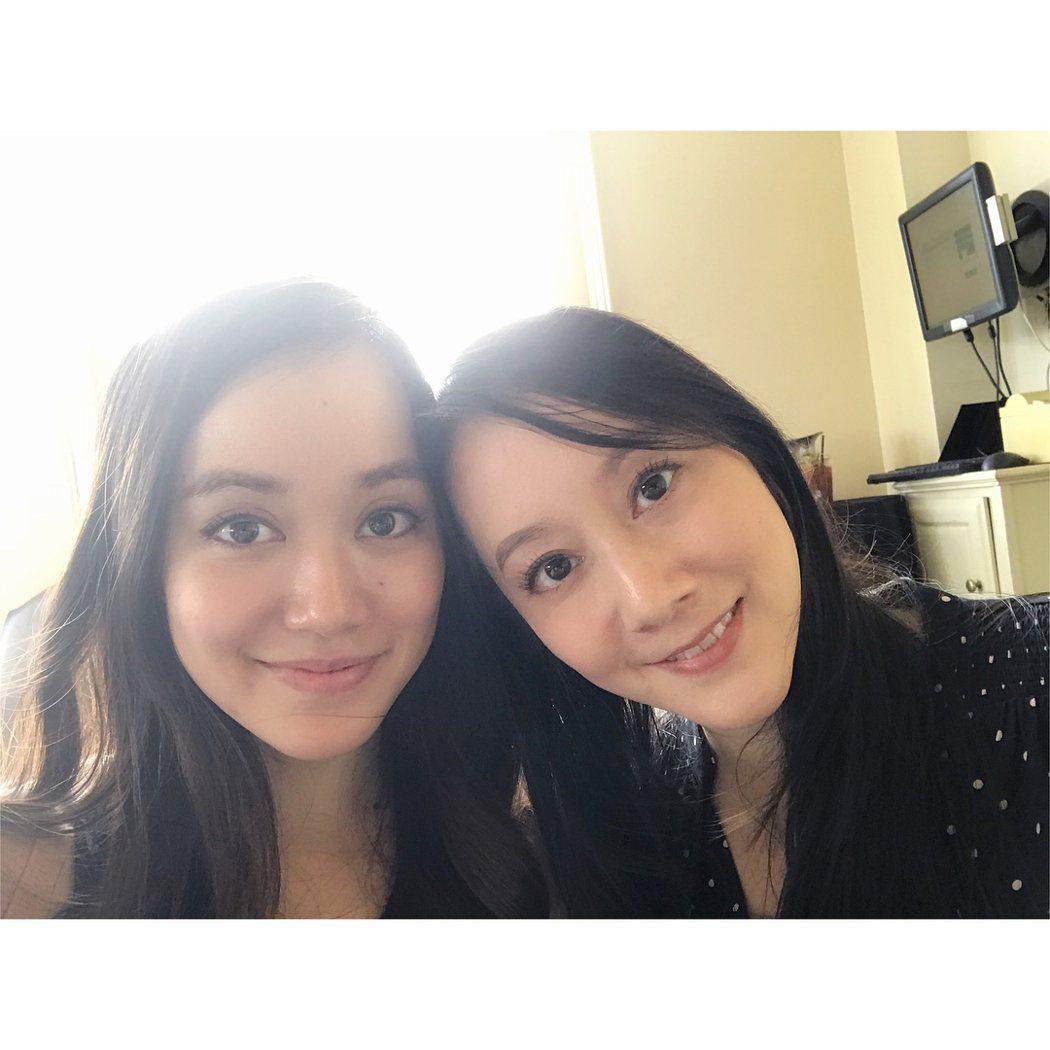 許嘉凌與姊姊許慧欣都已淡出演藝圈。 圖/擷自許嘉凌IG