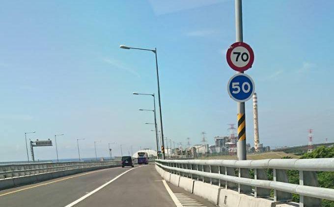 蘇花改調整行車速限每小時最高70至最低50公里的首日,經過一整天觀察,提速後平均...