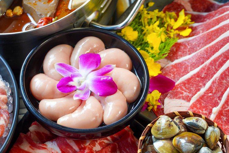 新馬辣Plus+店內提供有雞胇供人品嚐。圖/馬辣提供