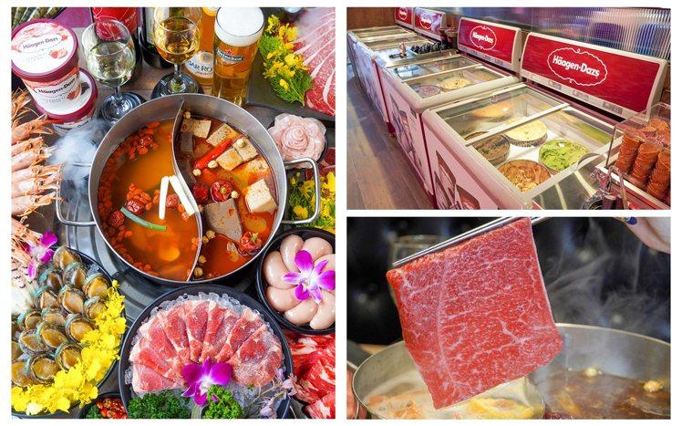 新馬辣plus+提供有多元化的食材。圖/馬辣提供