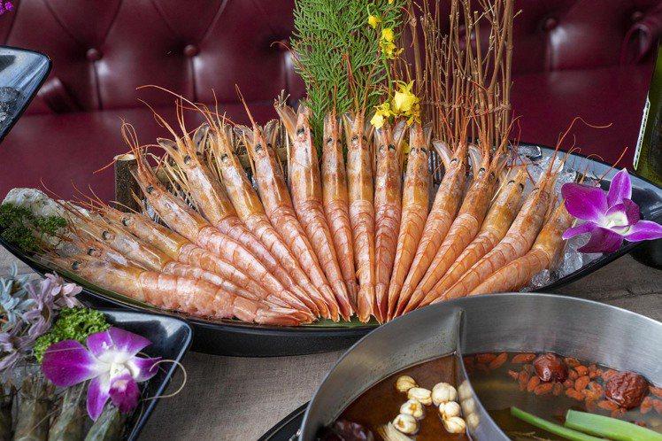 阿根廷天使紅蝦。圖/馬辣提供