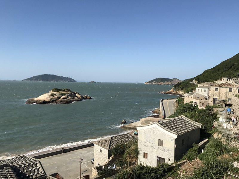 號稱馬祖地中海的芹壁村,美的像一幅畫。記者吳淑君/攝影