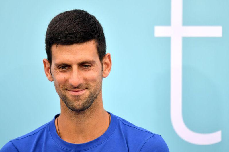 塞爾維亞「世界球王」約克維奇(Novak Djokovic)。圖/法新社