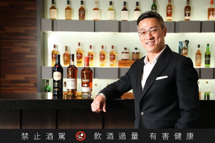 格蘭菲迪威士忌台灣區品牌大使詹昌憲,既是威士忌達人探險家,也是人生壯遊的領路者。