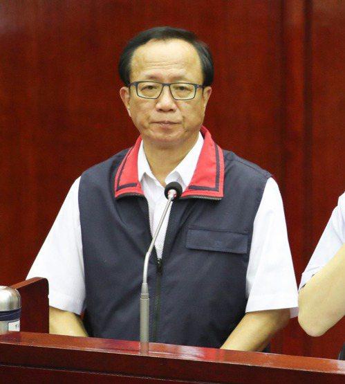 台北市警察局長陳嘉昌。 中央社資料照