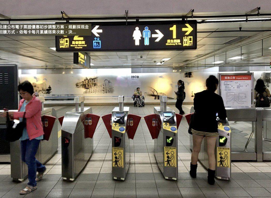 有網友好奇雙捷運的租屋處是否代表離捷運站很遠,引發網友熱議。 本報資料照片,非新...