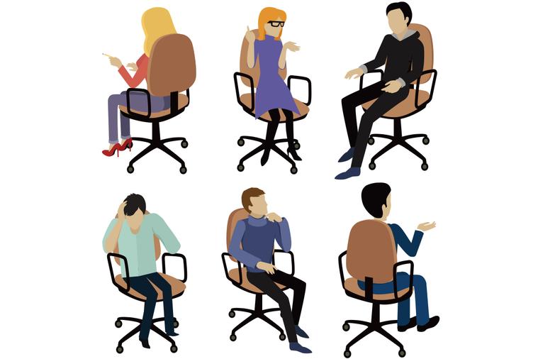 你都怎麼站和怎麼坐?心理學研究顯示:改變「姿勢」就能提升自信。 示意圖/ingi...