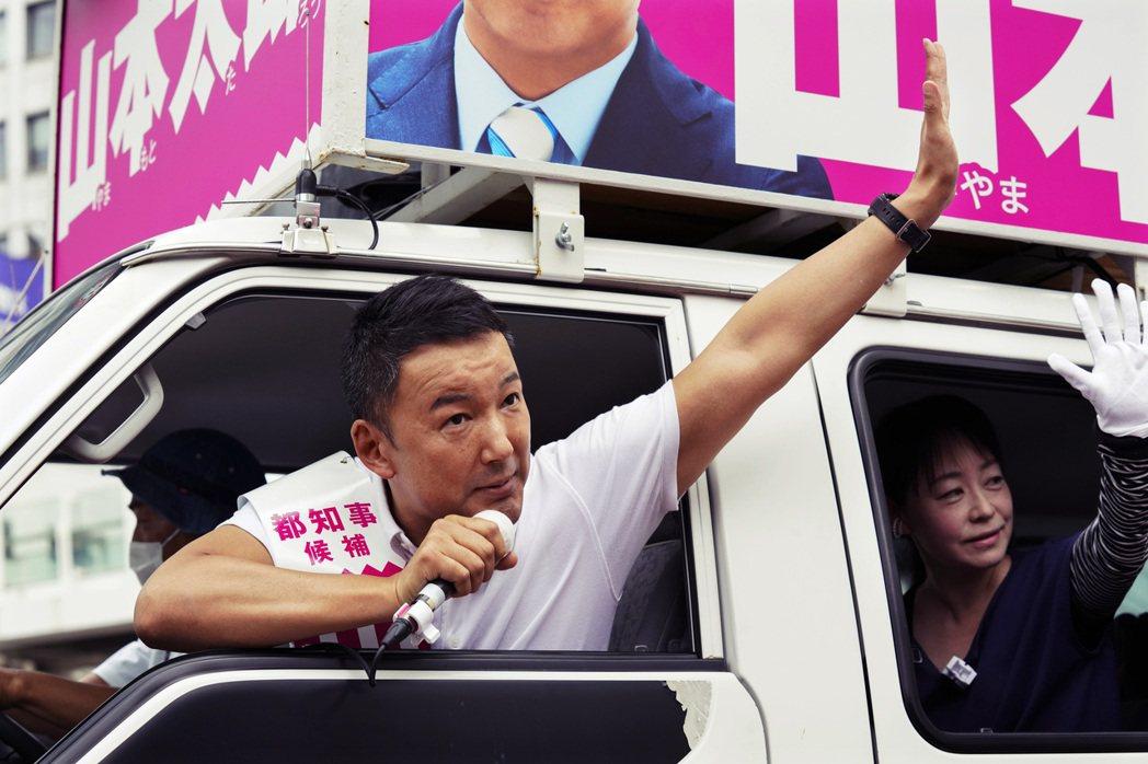 在這場小池幾乎篤定連任的東京都知事選舉中,令和新選組的黨首山本太郎宣布參選,到底...