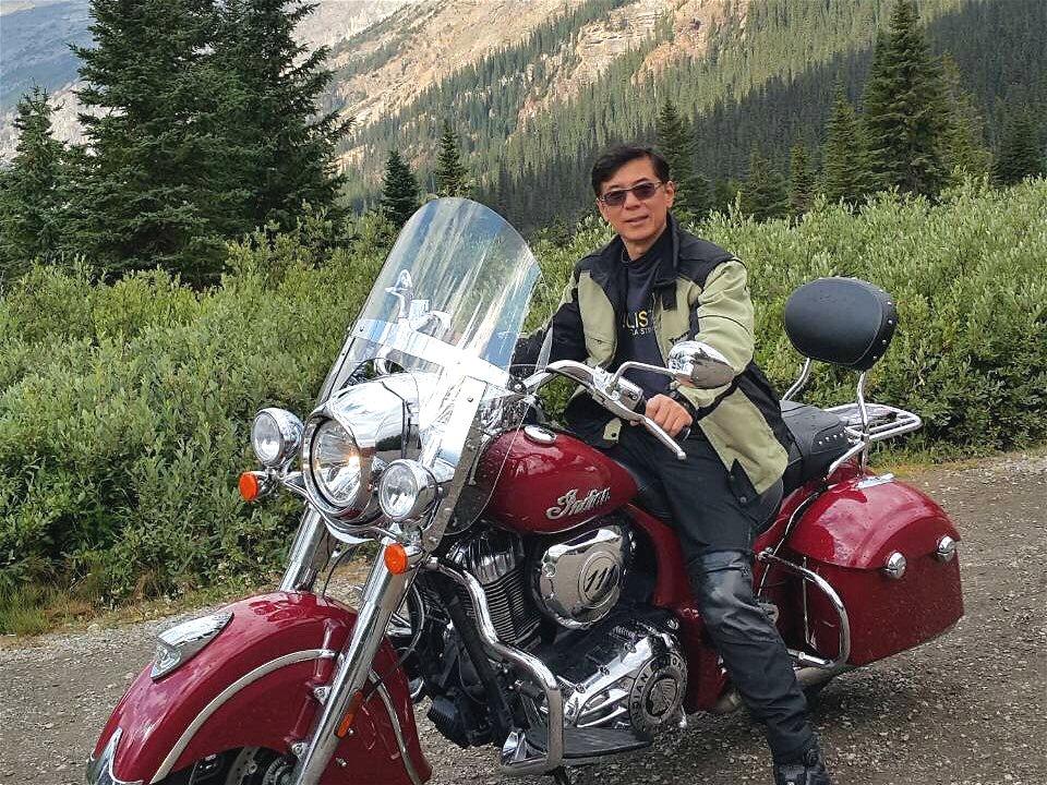 劉榮森年輕時就愛好重機,這幾年超過8000公里的公路旅行,對他而言也是前所未有的...