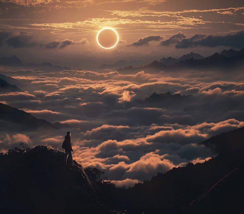 日環食為世紀天文奇景,下一次預計195年後才會出現。圖/IG@twioux.0627授權