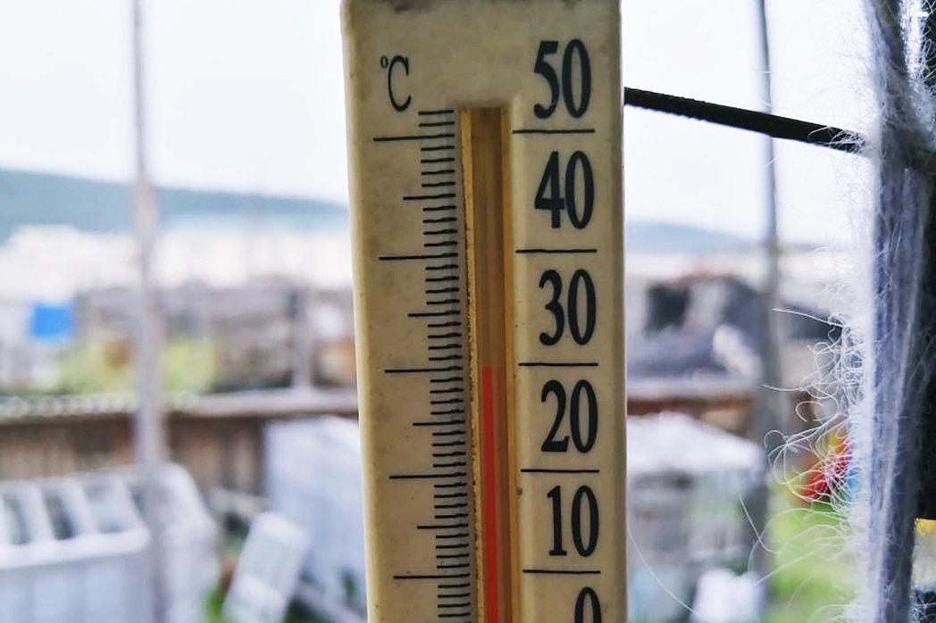 周日的21日,維科揚斯克仍測得35.2℃的紀錄。 圖/美聯社