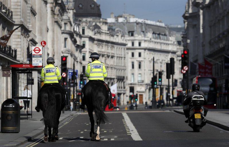 英國脫歐因新冠肺炎疫情使談判進度嚴重落後。 圖/美聯社