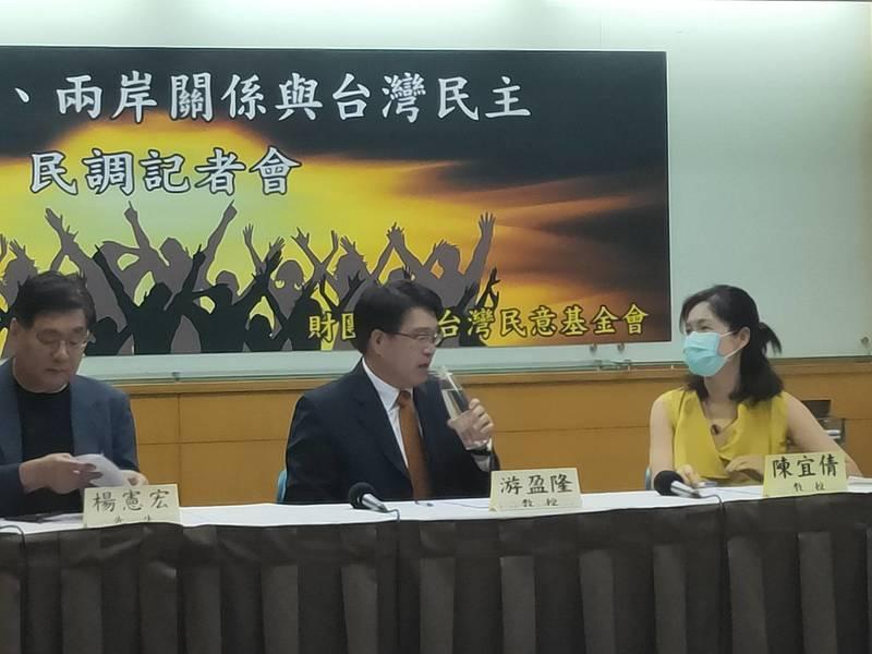台灣民意基金會民調22日顯示,超過半數台灣人希望獨立、且不怕中共武力犯台。(Photo by 呂翔禾/台灣醒報)