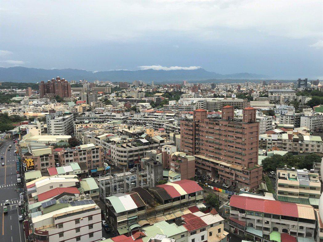 嘉義街景。記者游智文/攝影