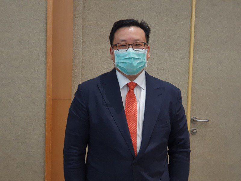永豐餘董事長何奕達。記者曾仁凱/攝影