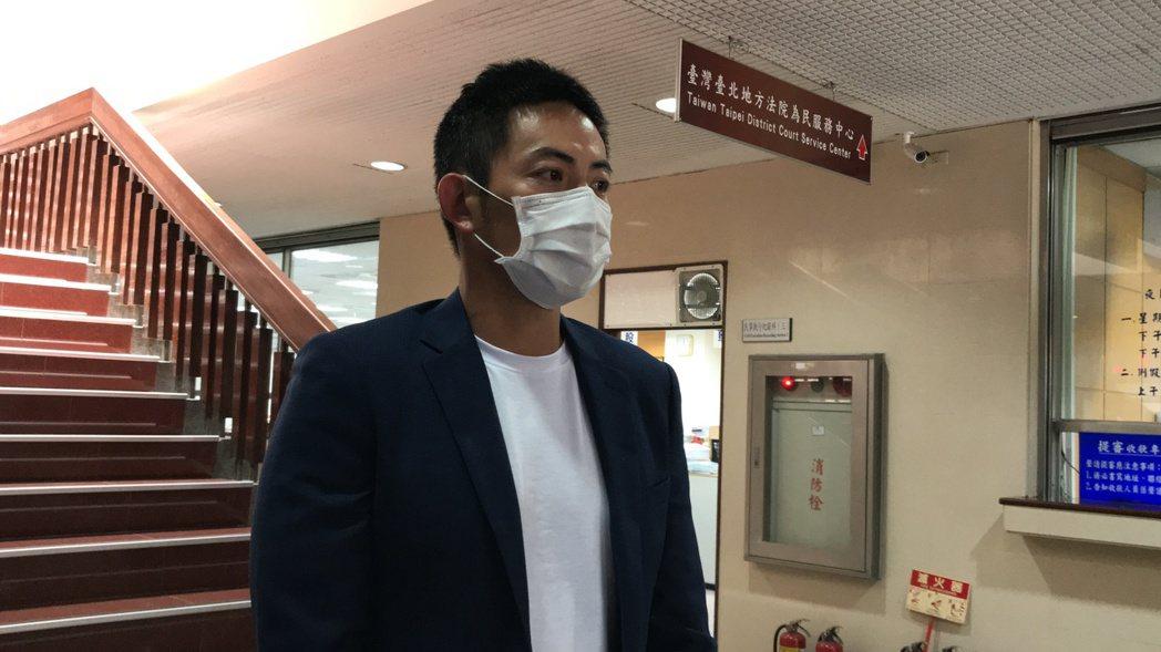趙駿亞被控妨害公務賠15萬元與警察和解。記者王聖藜/攝影