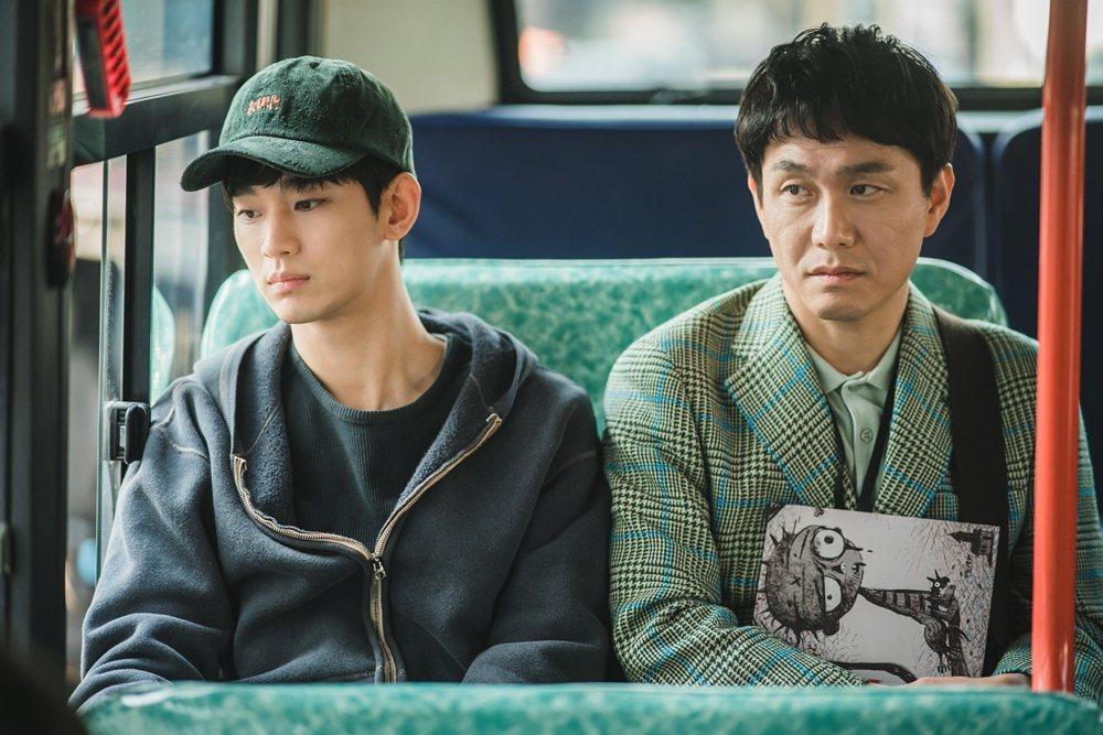 金秀賢在劇中一心只想照顧好自閉症哥哥吳政世。圖/Netflix提供