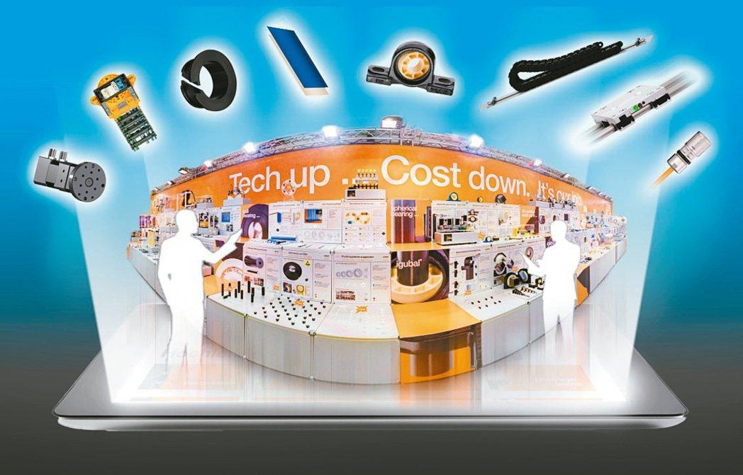 德國igus的線上展覽,向參觀者展示動態工程塑膠在所有領域的 100 多款新品和...