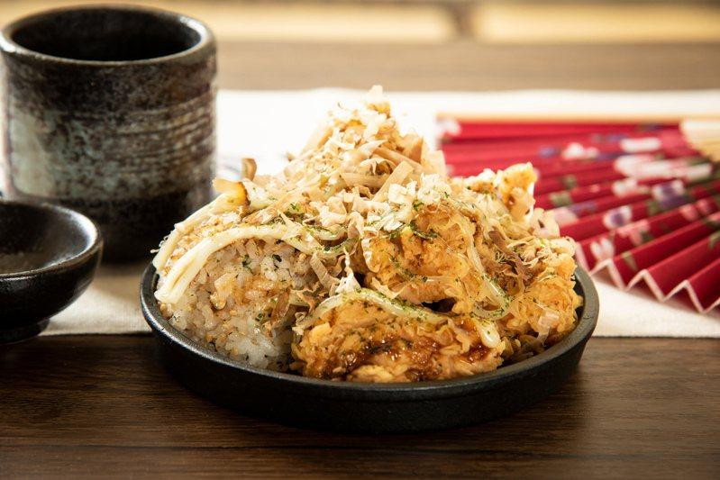 肯德基自6月23日起推出「大阪燒無骨大口脆雞」新產品。圖/肯德基提供