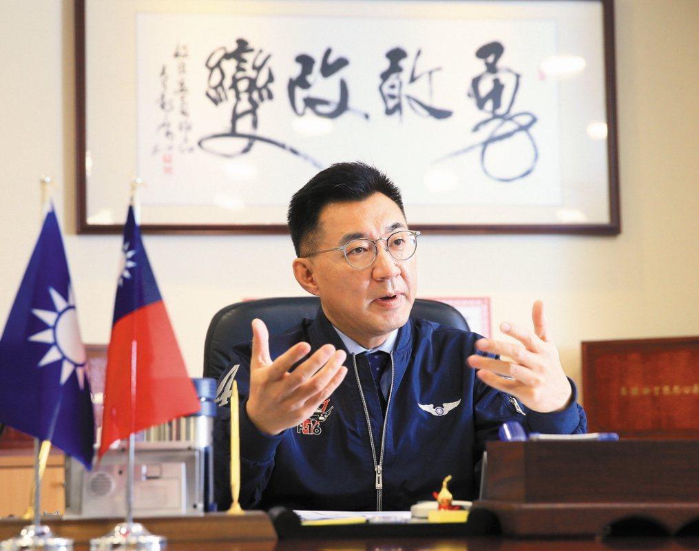 圖為國民黨主席江啟臣。圖/聯合報系資料照片