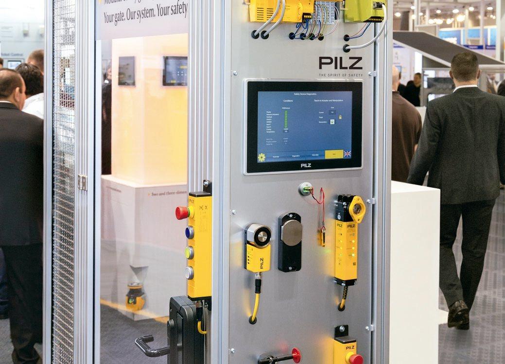Pilz打造兼具機械安全與工業資安解決方案。 臺灣皮爾磁/提供