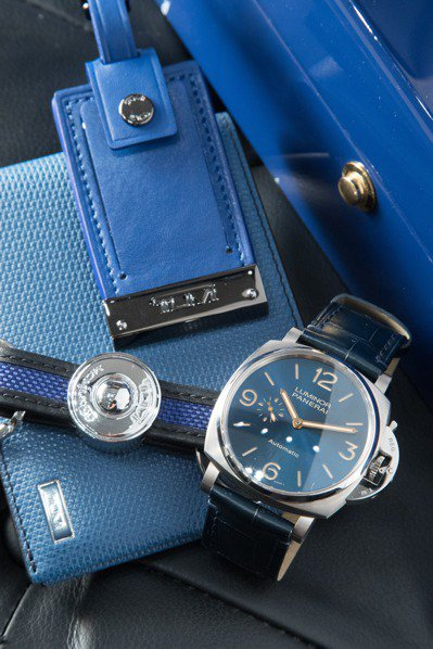 去年才入手的沛納海藍表盤Luminor Due腕表,由於表身較纖薄,成為了Ala...